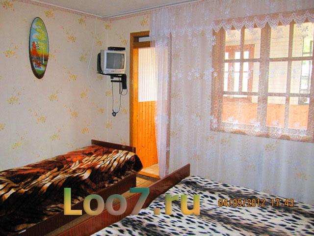 Частный сектор Лоо гостевые дома у моря