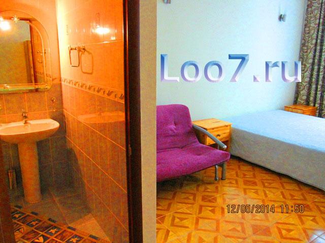 Лоо гостиницы на берегу, цены отзывы отдыхающих на сайте www.Loo7.ru