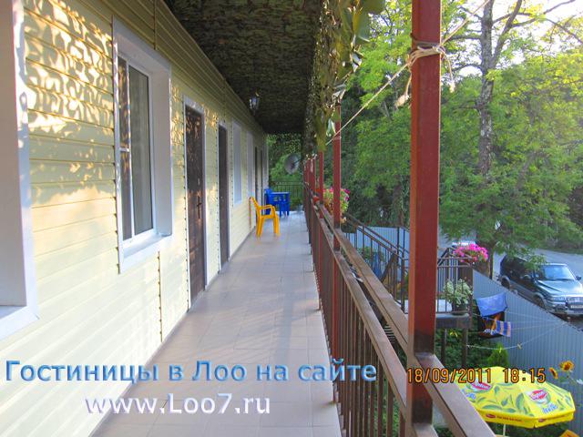 Двух этажная гостиница на ул Енисейская поселок Лоо