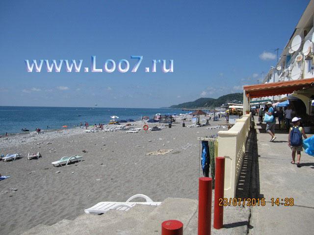 Лоо пляж фото отдыхающих снятое в июле