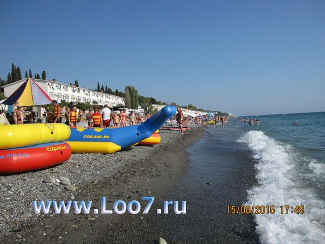Лоо центральный пляж фото развлечения отдых цены описания