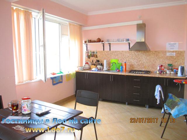 Кухня для отдыхающих в гостинице 3