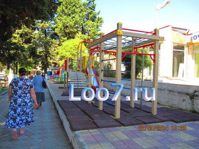 Лоо фото детской площадки