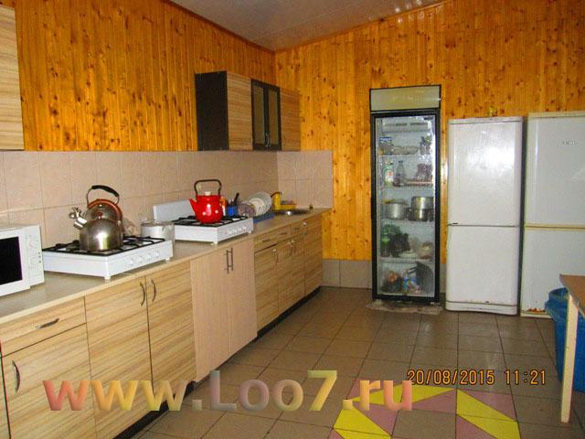 Домики в Лоо с кухней и балконом