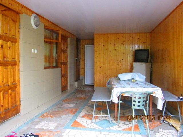 Отдельные деревянные домики в Лоо горный воздух