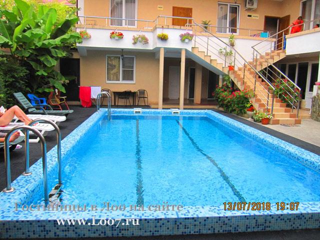 Гостиницы в Лоо с бассейном рядом с морем