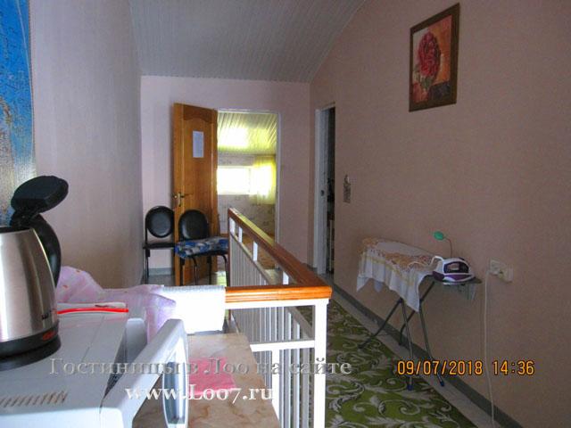 Общий коридор в двух комнатном эллинге