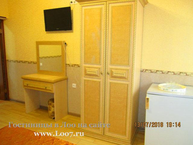 Гостиница в Лоо 48 номера стандарт