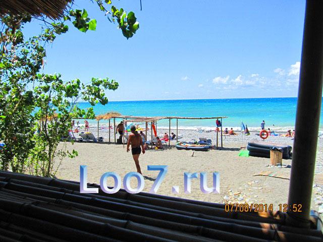 Частный сектор Лоо отдых у моря на пляже