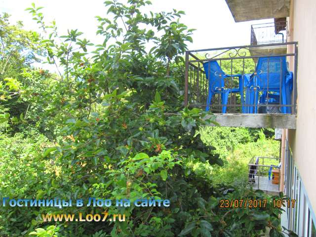 Номера в Лоо с балконом