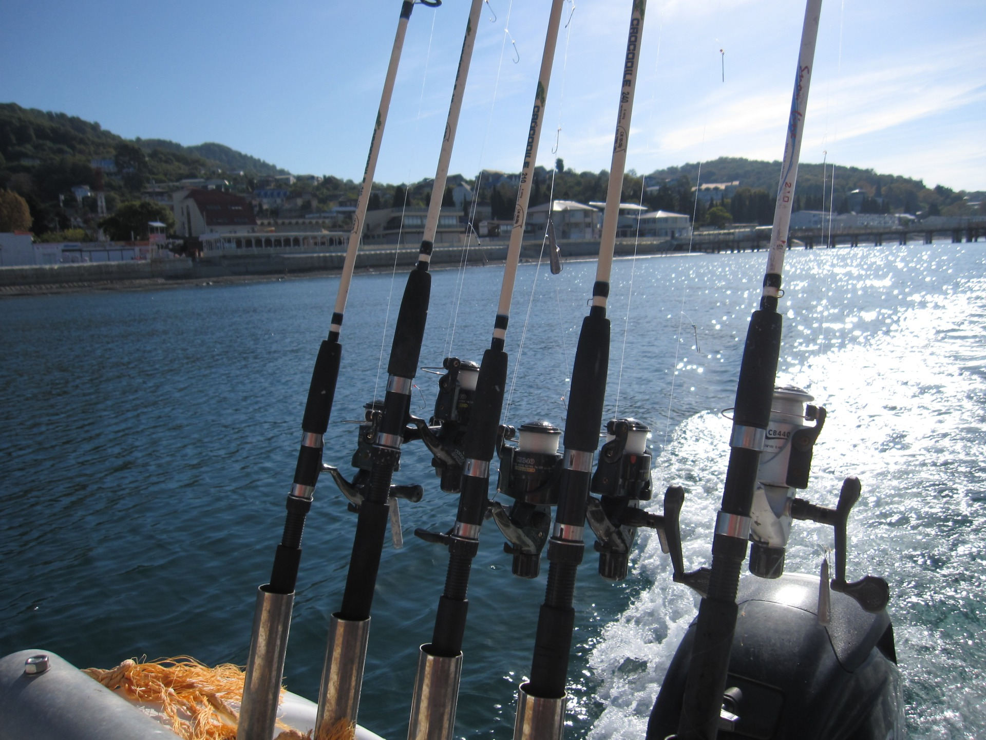 Морская рыбалка в Лоо