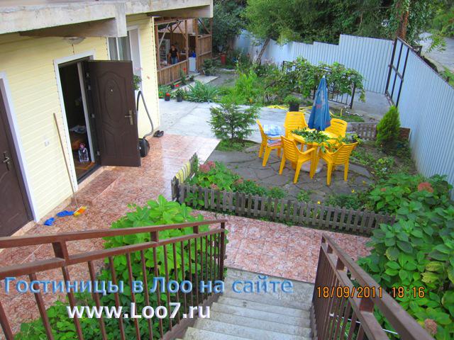 Отдых в Лоо мини гостиницы на ул Енисейской цены отзывы фотографии